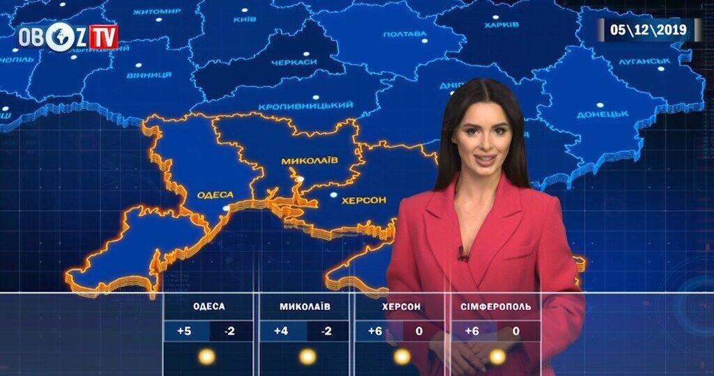 Солнечно и без снега: прогноз погоды на 5 декабря от ObozTV