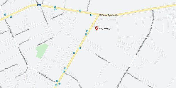 Карта Миколаєва