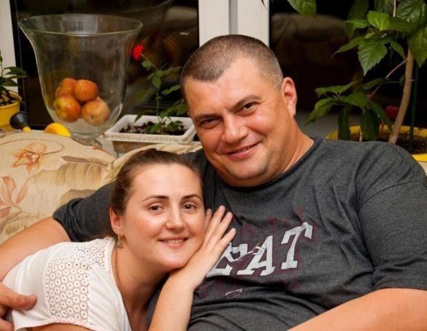 """""""Юзік"""" з дружиною Тетяною"""