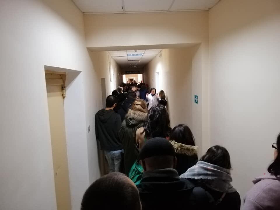 Очередь в Одесском центре переливания крови