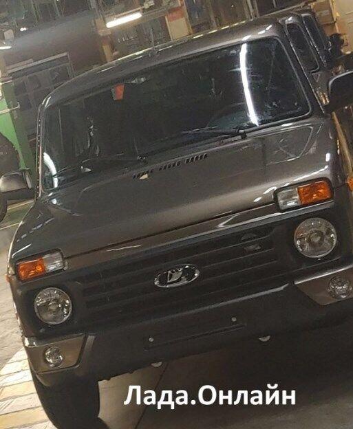 Новий передній бампер – єдине оновлення дизайну Lada 4x4