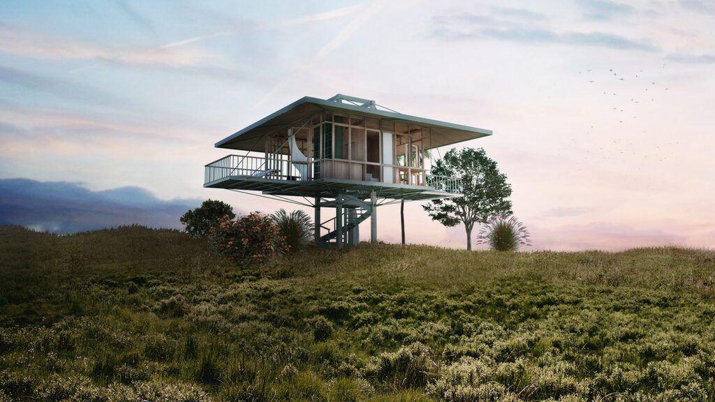 Экологический дом от Stilt Stidio