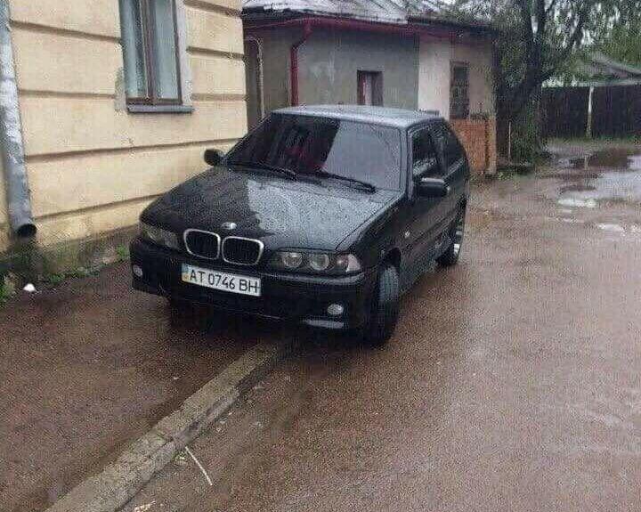 ВАЗ-2113 з передньою частиною від BMW