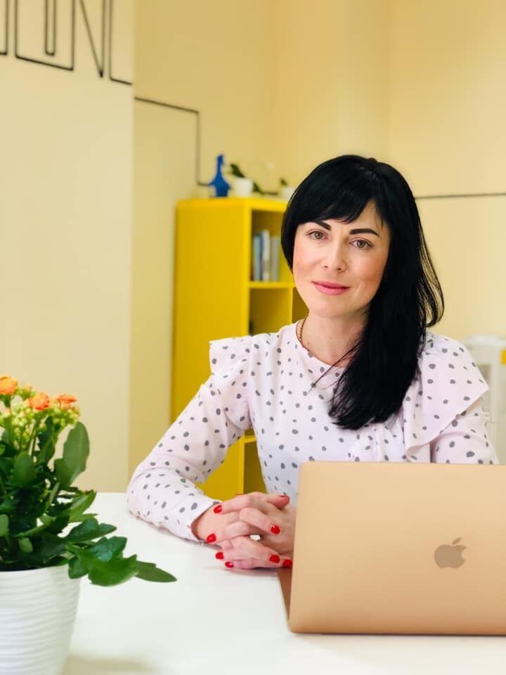Гештальт-терапевтка Олександра Литвинчук