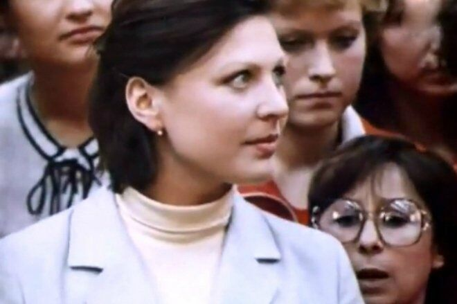 Тетяна Кравченко в молодості