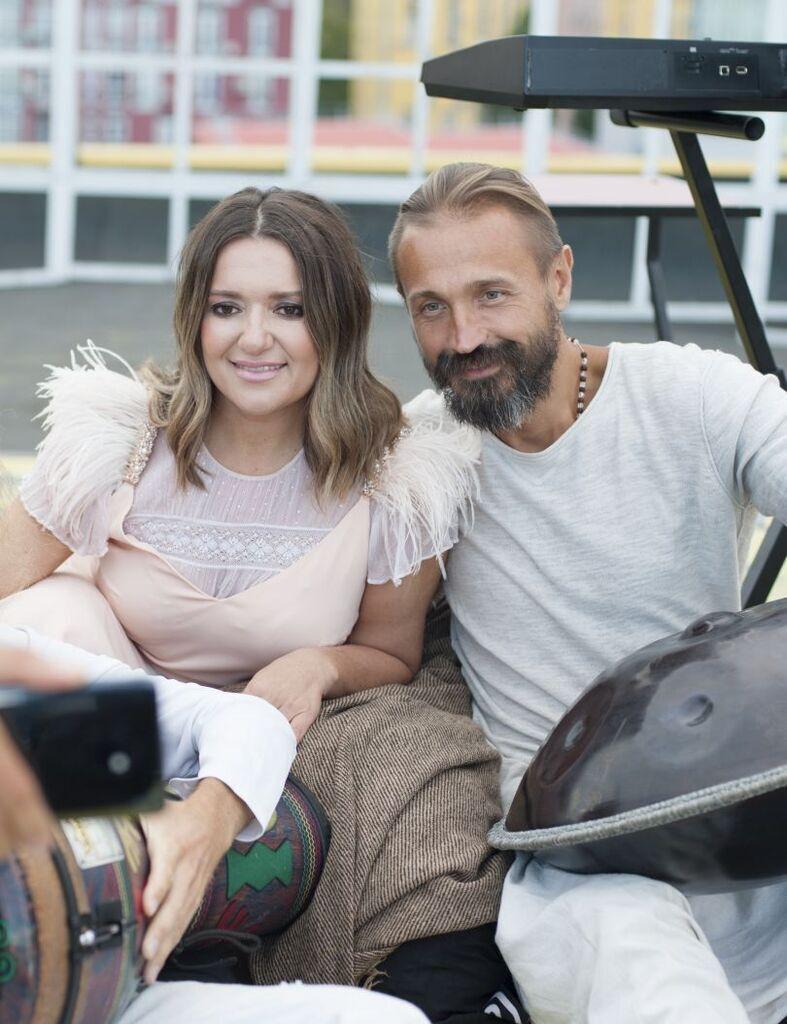 Наталья Могилевская и Влад Коцюба
