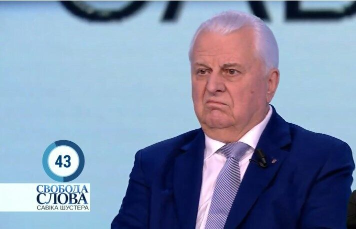 Кравчук розкритикував протест проти Зеленського