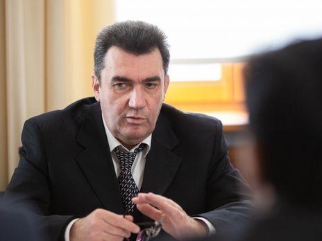 Данилов рассказал об атаке на сайт Зеленского