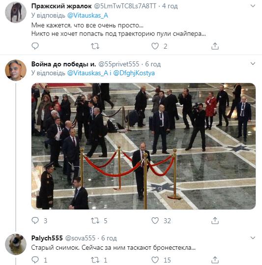 Росіяни підняли на сміх фото Путіна-одинака