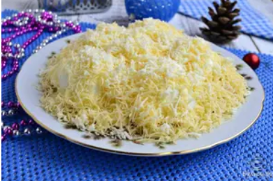 Рецепт простого, але ефектного салату на Новий рік 2020