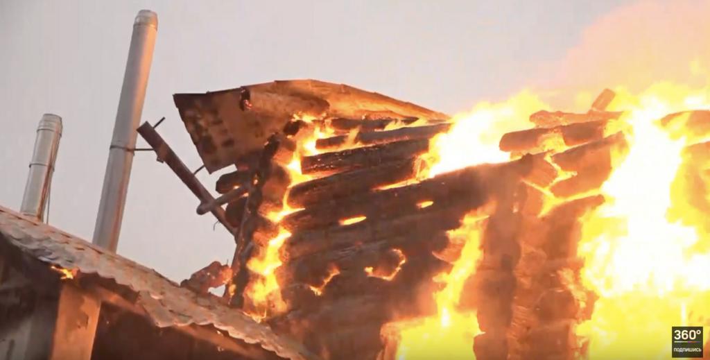 Пожар в Подмосковье