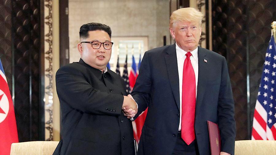 Трамп пригрозил Ким Чен Ыну