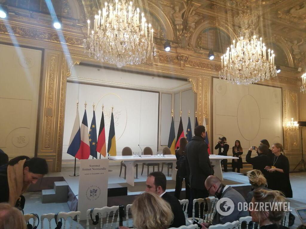 Журналисты ждут пресс-конференцию лидеров Н4