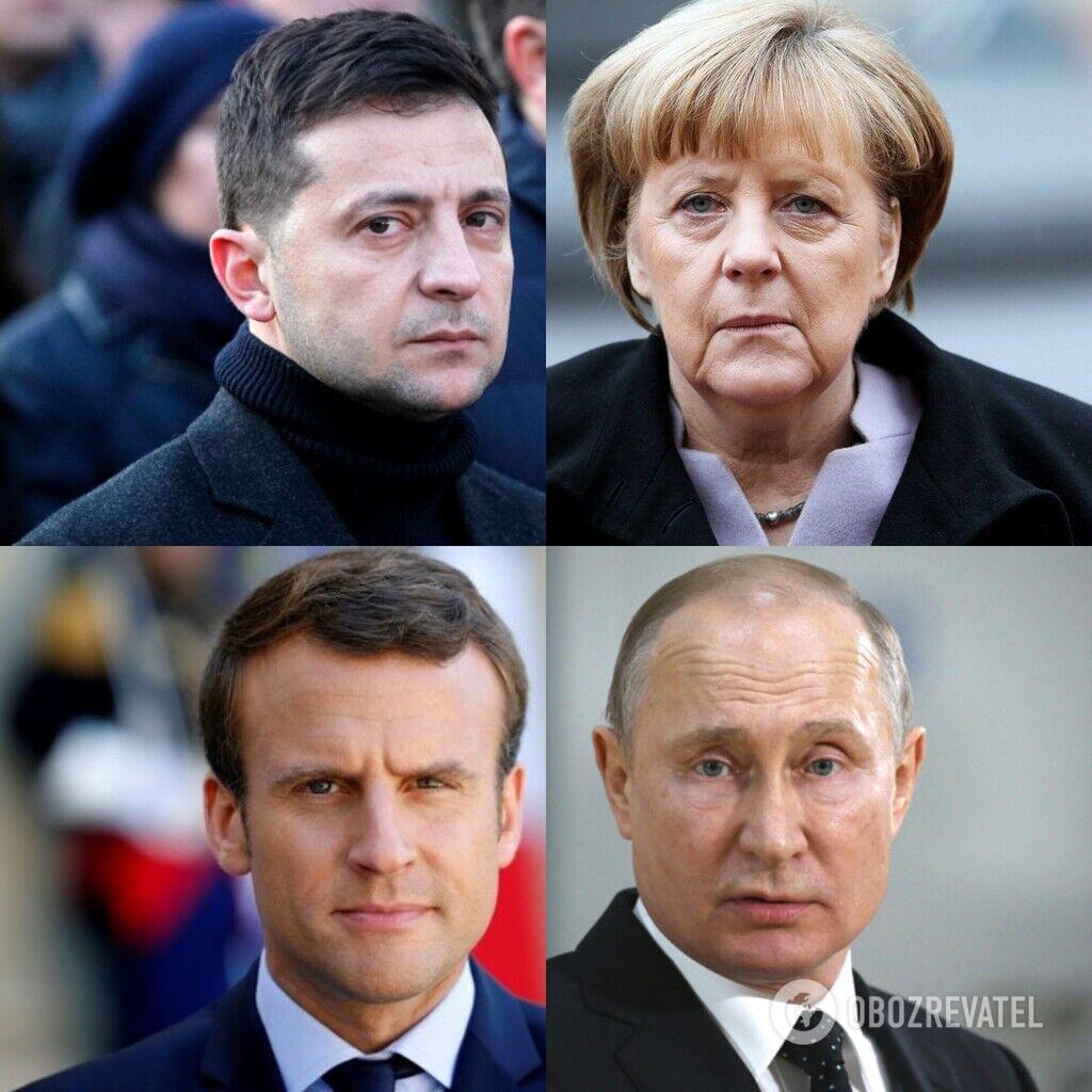 """В Париже стартовал """"нормандский"""" саммит"""