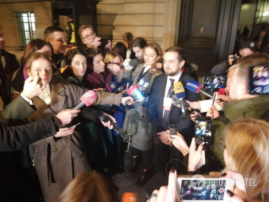 Кирилл Тимошенко с журналистами
