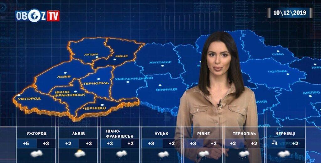 Погода як у березні: прогноз на 10 грудня від ObozTV