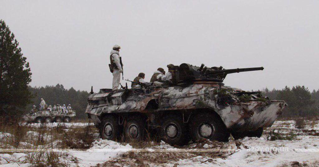 ''Нас чекає перемога!'' ''Азов'' повернувся на фронт у зону ООС