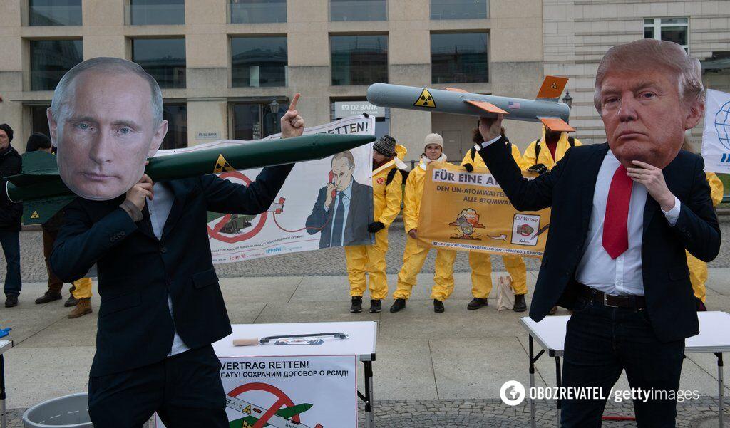 Конец ''ракетного'' договора: США и Россия вступают в гонку вооружений, Украина под угрозой