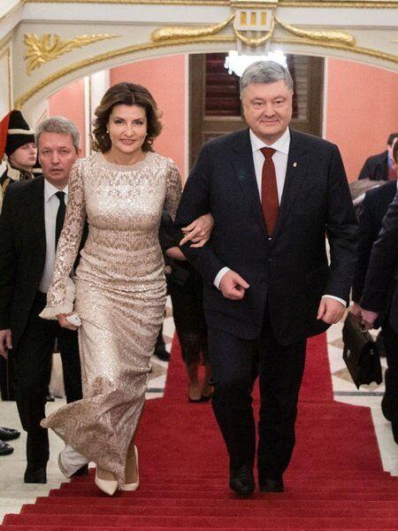 Петро Порошенко и Марина Порошенко
