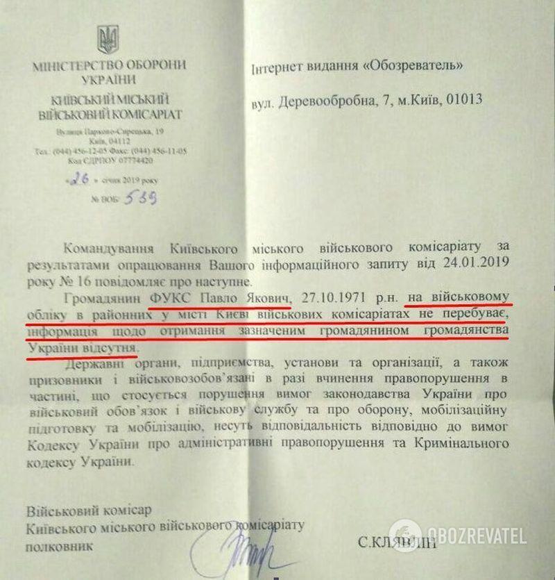 Розыск Фукса: почему Украина должна выдать гражданина России