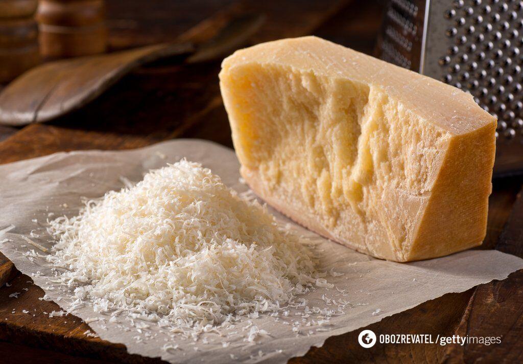 Пармезан названо королем усіх сирів