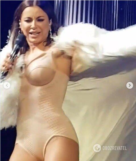 Ани Лорак дала концерт в Саратове