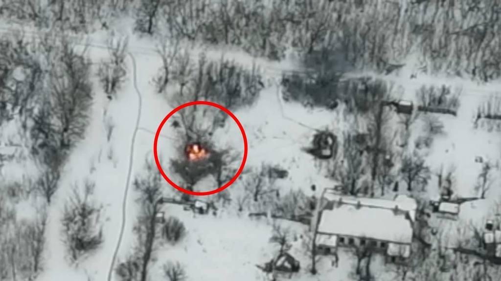Подробности ликвидации российской БМП под Горловкой: войска врага нужно бить