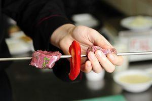 Мастер-класс: готовим шашлык из телятины