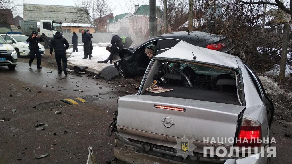 Под Киевом устроили смертельную погоню с полицией