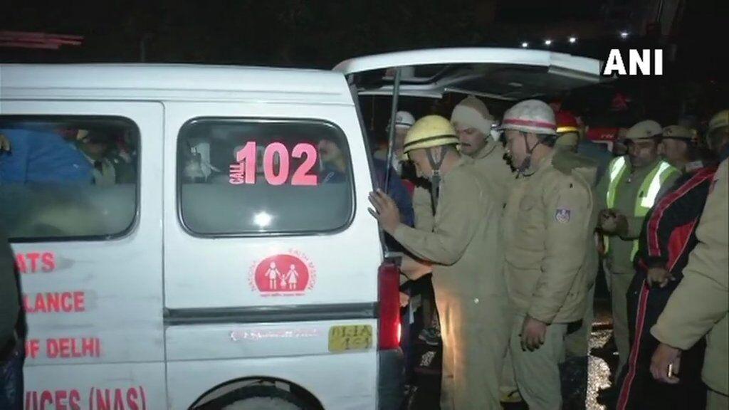 В столице Индии вспыхнул отель: 17 человек сгорели заживо