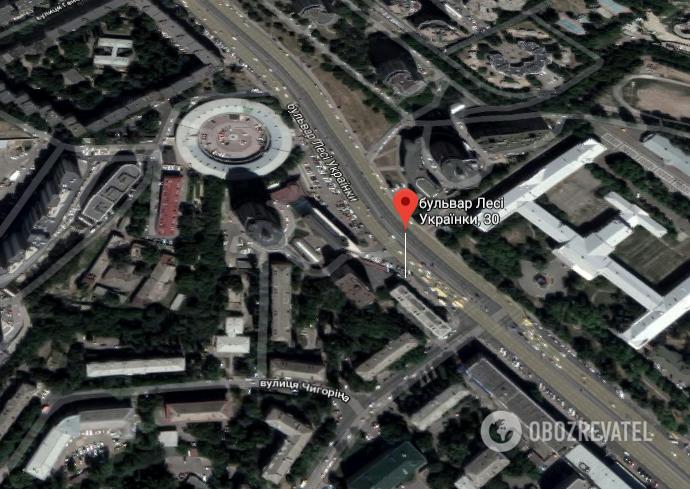 Місце, де трапилася стрілянина 11 лютого