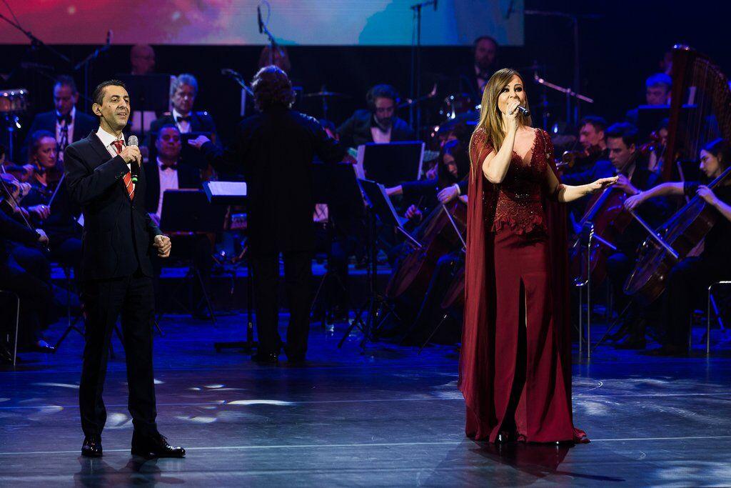 Впервые в Украине выступила известная в мире арабская певица