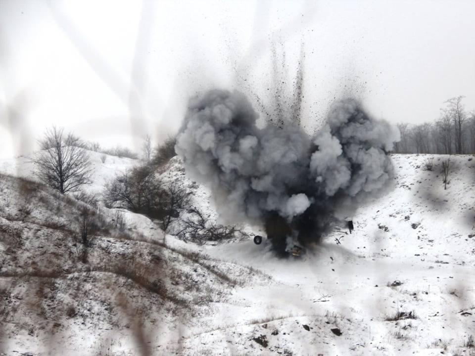 ЗСУ завдали удару по позиціях терористів
