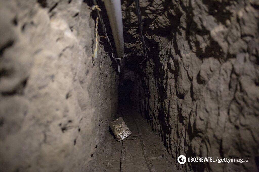 Тоннель под камерой Чабо