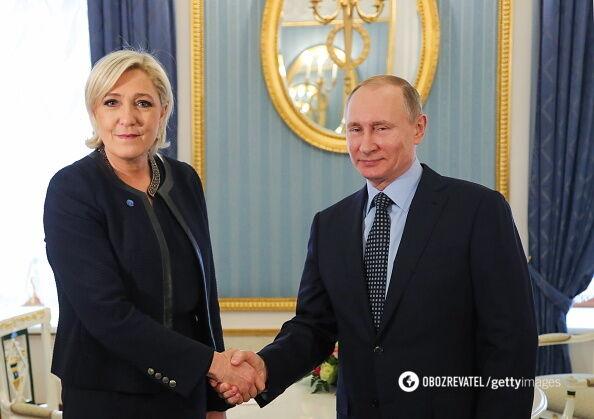 Ле Пен і Путін