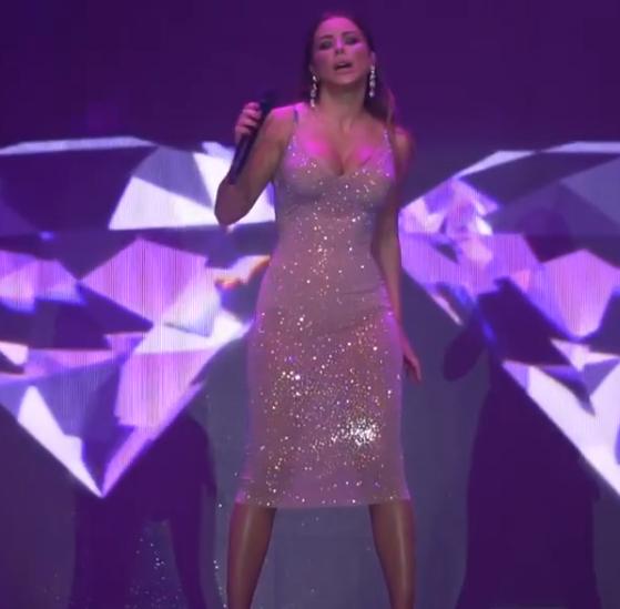 Ані Лорак на концерті в Таганрозі