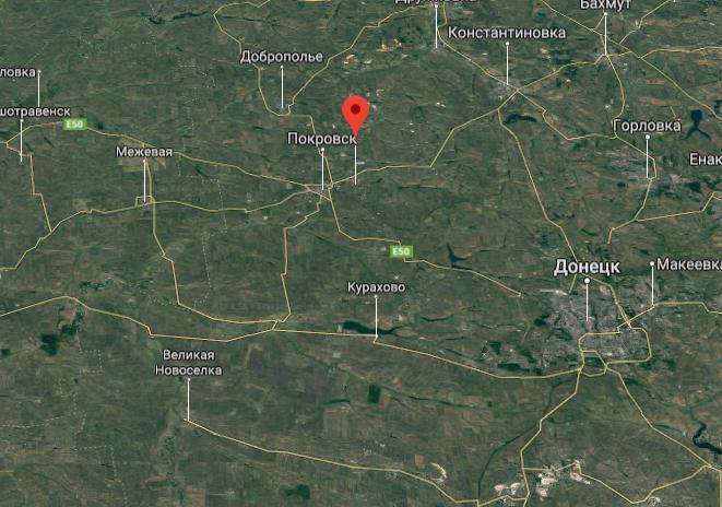 ДТП в Мирнограде