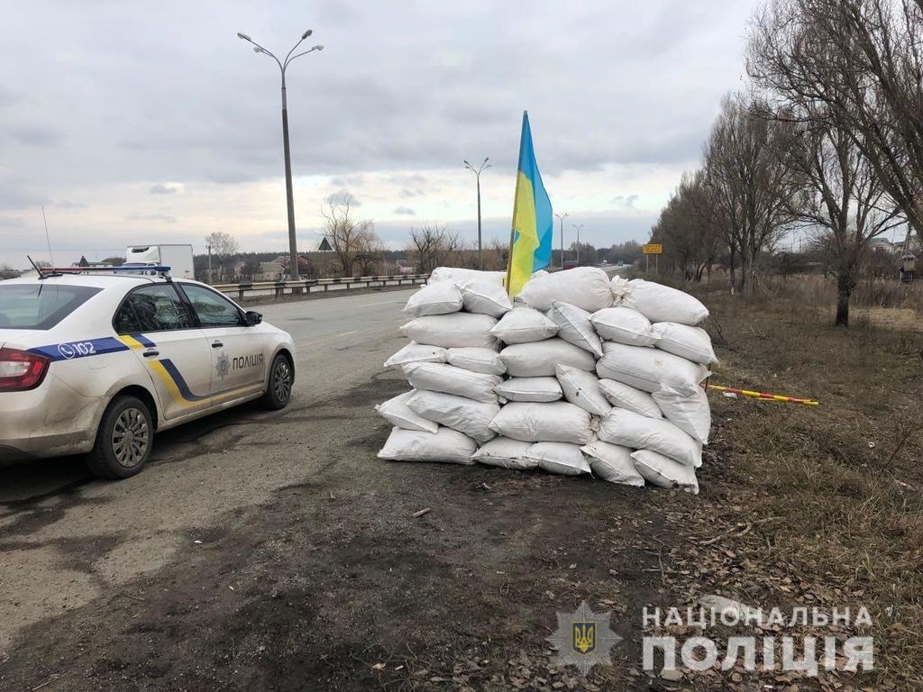 Під Дніпром зловили збройних псевдовійськових