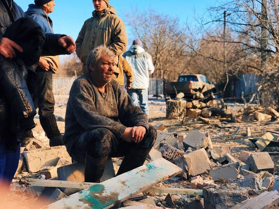 На Донбассе мирных жителей обстреляли российскими снарядами