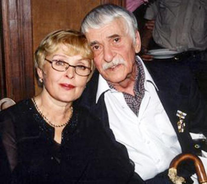 Ада Роговцева та її чоловік Костянтин Степанков