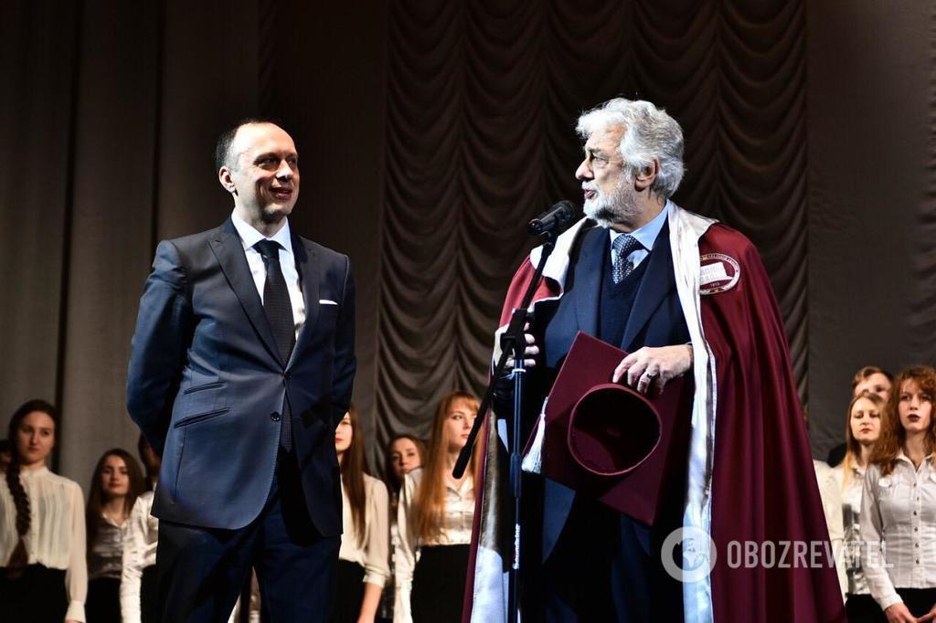 Легенда мировой оперы стал профессором академии в Украине photo