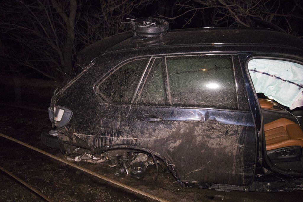 В Киеве после ДТП живьем сгорела клиентка такси