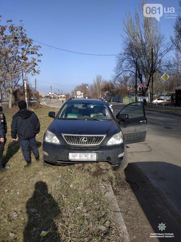 В Запорожье произошло 2 ДТП по вине пьяных водителей
