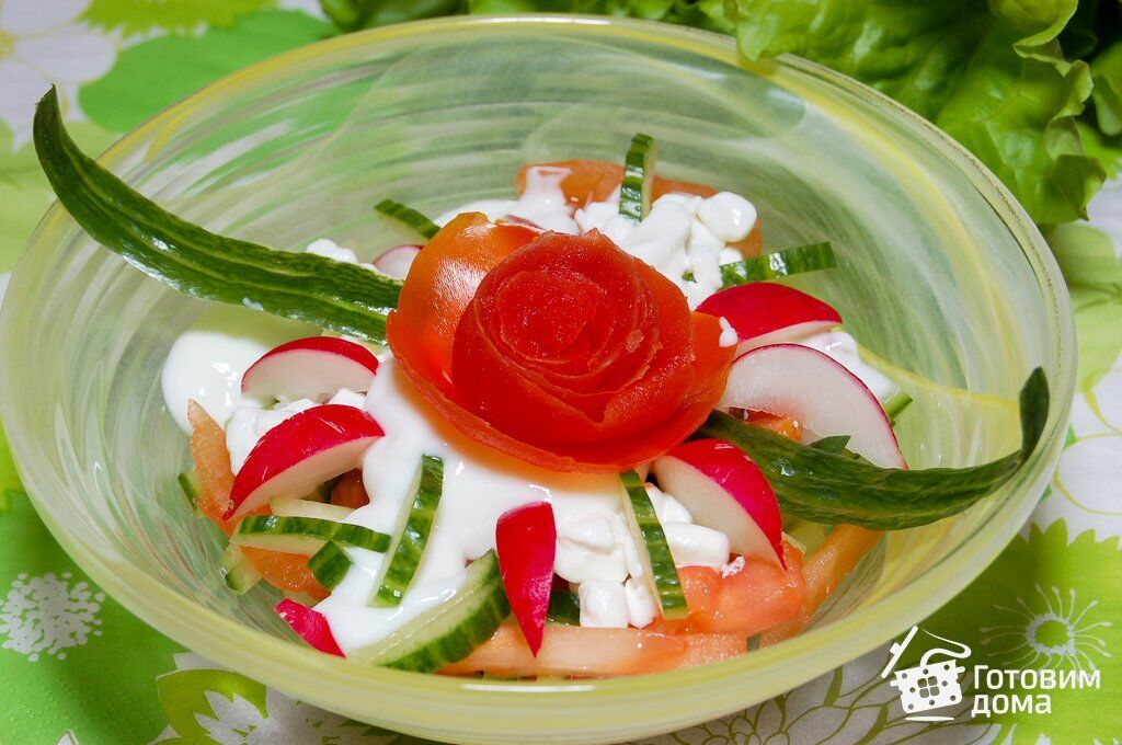 Топ-3 рецепта легких весенних салатов