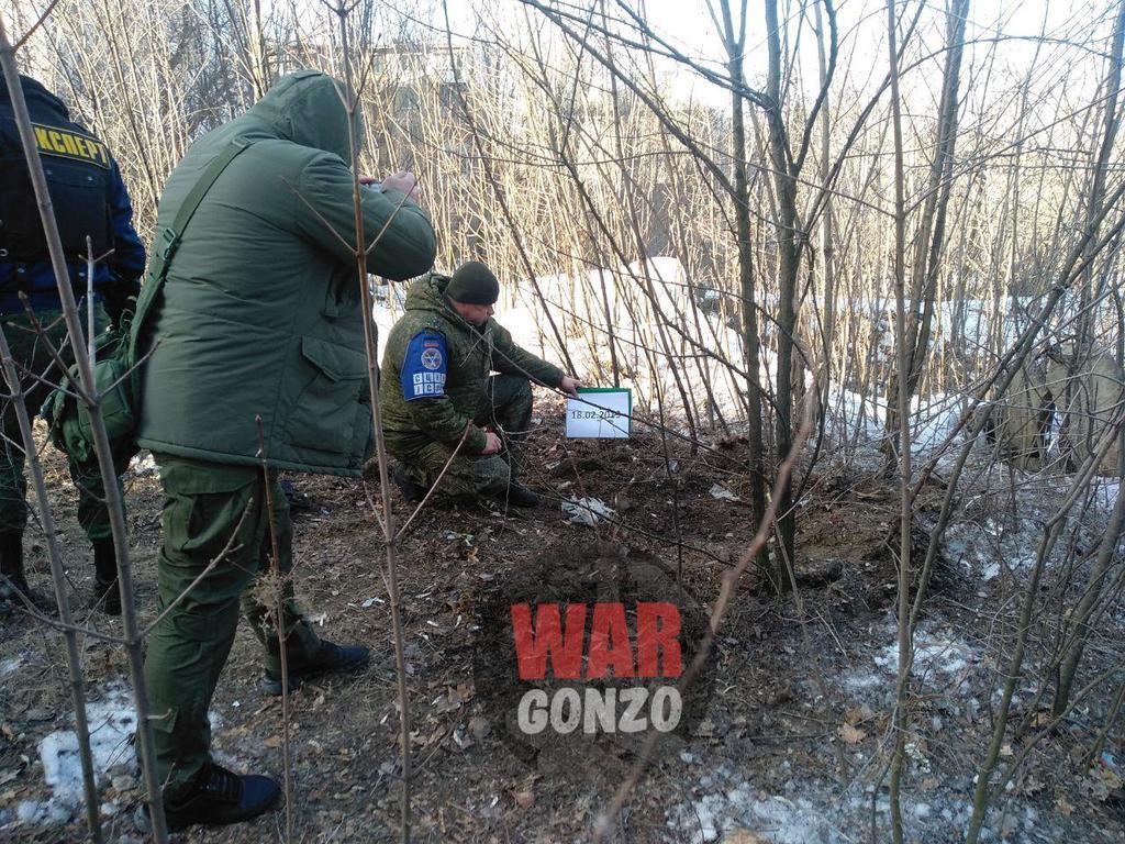Вибухи в Донецьку