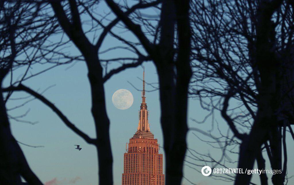 Суперлуние 2019 в Украине: смотреть трансляцию онлайн