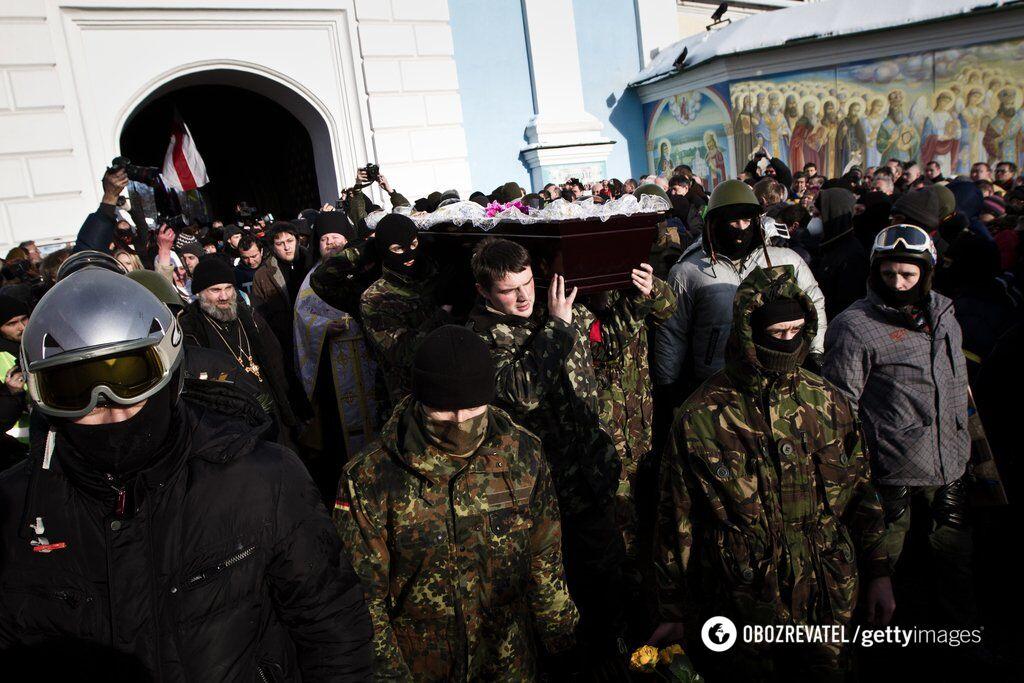 ''Ненавидим!'' Украина вспоминает трагические события на Майдане