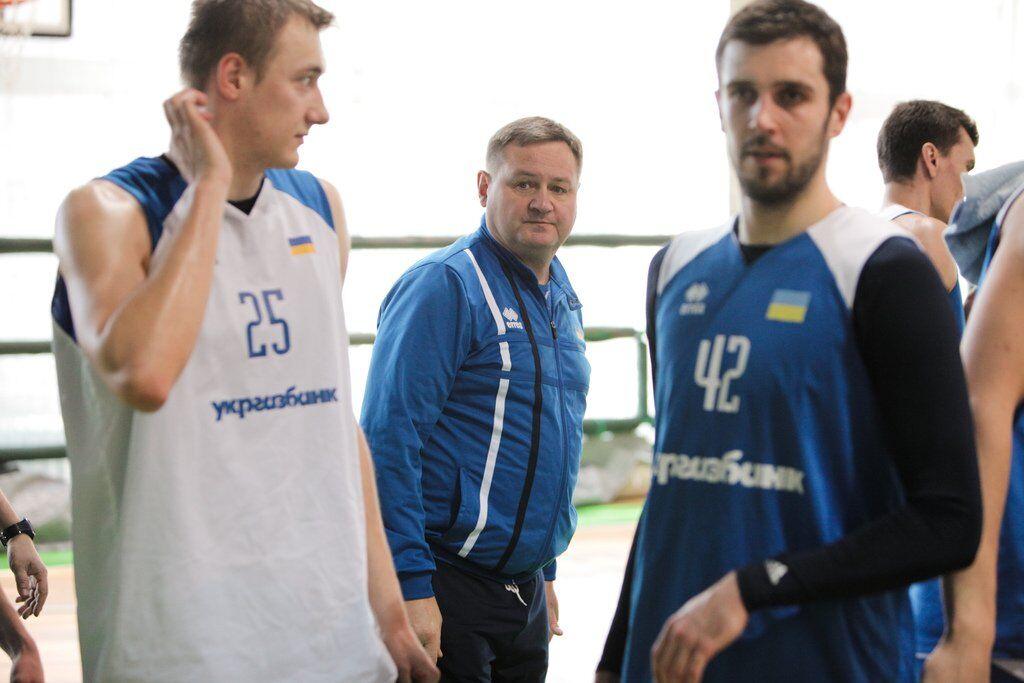 Тренування збірної України