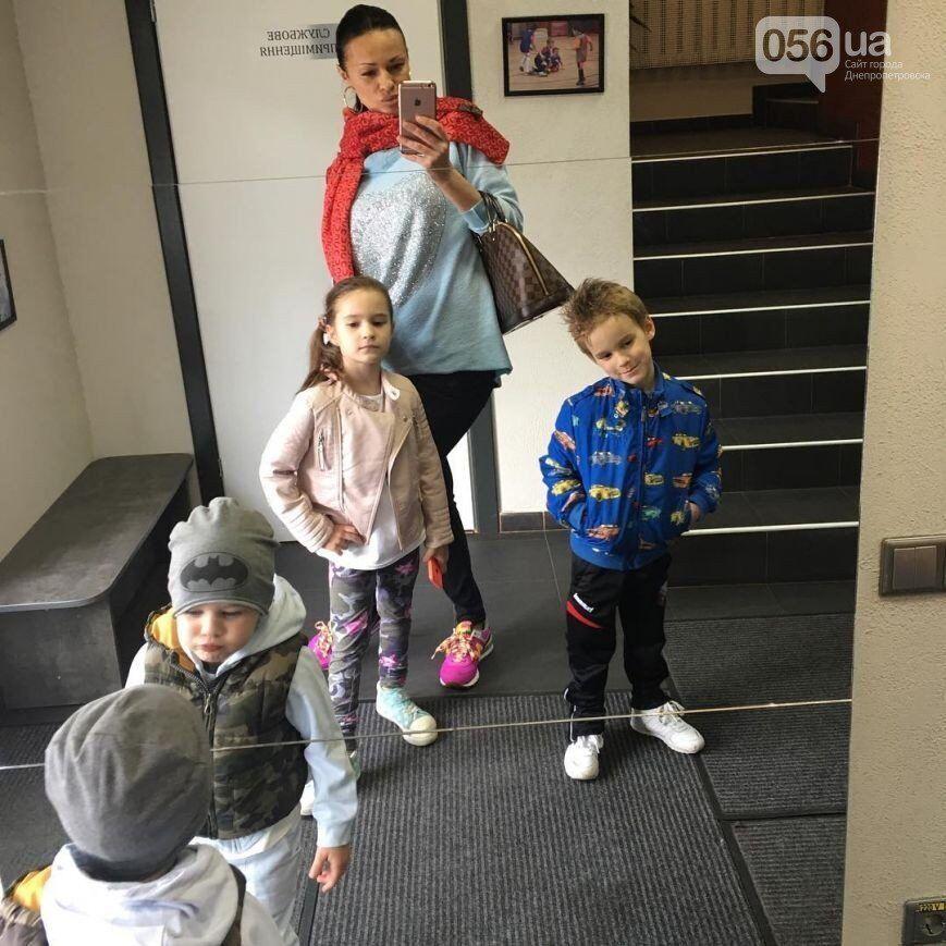 Зоряна Олейник с детьми