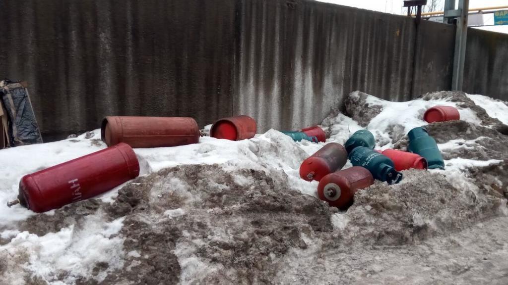У Києві трапилася масштабна пожежа на складах